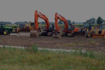 alat-alat berat yang umum dipakai untuk mengolah lahan